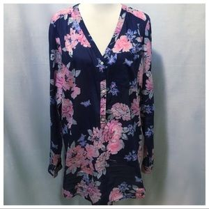 NWT ~ Old Navy 3/4 Button Down Tunic Top - Size XL